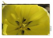 Yellow Tulip Center Squared Carry-all Pouch