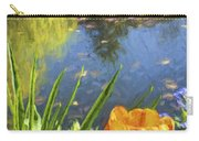 Yellow Tulip In Giverny  Carry-all Pouch