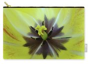 Yellow Tulip Macro Spring Floral Garden Baslee Troutman Carry-all Pouch