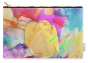 Yellow Tulip Carry-all Pouch