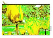 Yellow Tulips Abstract Carry-all Pouch