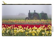 Yellow Tulips And Tractors Carry-all Pouch