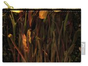 Yellow Tulips Decaying At Sunset Carry-all Pouch