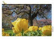Yellow Tulips In The Public Garden Boston Ma Carry-all Pouch
