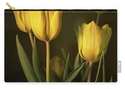 Yellow Tulips Carry-all Pouch