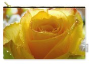 Yellow Valentine Roses - 4 Carry-all Pouch