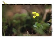 Yellow Violet Carry-all Pouch