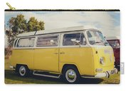 Yellow Vw T2 Camper Van 02 Carry-all Pouch