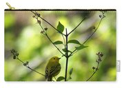 Yellow Warbler In A Tree 2 Carry-all Pouch