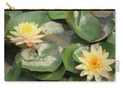 Yellow Water Lillies Carry-all Pouch