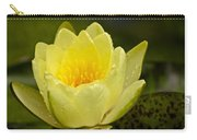 Yellow Water Lilly Carry-all Pouch