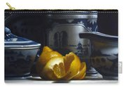 Yellow White Blue Carry-all Pouch