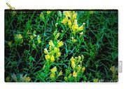 Yellow Wild Flowers In Late Summer Carry-all Pouch