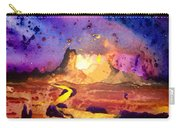Yellow Woman Carry-all Pouch