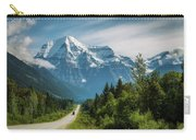 Yellowhead Highway In Mt. Robson Provincial Park, Canada Carry-all Pouch