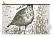 Yellowlegs Shorebird Carry-all Pouch