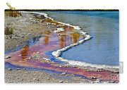 Yellowstone Abstract I Carry-all Pouch by Teresa Zieba