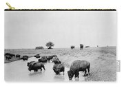 Yellowstone: Bison, C1905 Carry-all Pouch