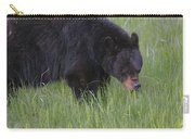 Yellowstone Black Bear Grazing Carry-all Pouch