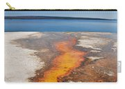 Yellowstone Lake And West Thumb Geyser Flow Carry-all Pouch