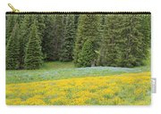 Yellowstone Meadow Carry-all Pouch