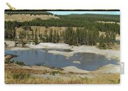 Yellowstone Mineral Ponds Carry-all Pouch