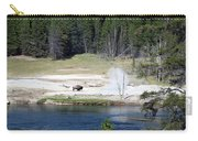 Yellowstone Park Bison In August Carry-all Pouch