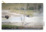 Yellowstone Park Bisons In August Carry-all Pouch