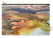 Yellowstone Park Firehole Spring Area Vertical 02 Carry-all Pouch