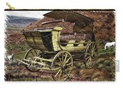 Yellowstone Park Stage Coach With Horses Pa 01 Carry-all Pouch