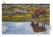 Yellowstone Reflections Carry-all Pouch by Erin Fickert-Rowland