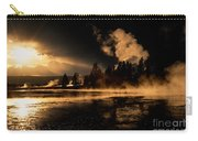 Yellowstone River Sunrise Carry-all Pouch