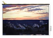 Yellowstone Smoke Stacks Carry-all Pouch