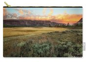 Yellowstone Sunrise Carry-all Pouch