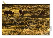 Yellowstone Sunset Graze Carry-all Pouch