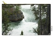 Yellowstone Waterfall Carry-all Pouch