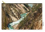 Yellowstone Waterfalls Carry-all Pouch