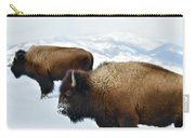 Yellowstone Winter Carry-all Pouch