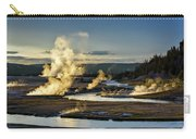 Yellowstone's Midway Geyser Basin  Carry-all Pouch