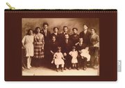 Yesteryears-grandfather Philip And Our Family Carry-all Pouch