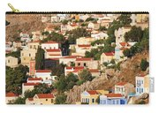 Yialos Town On Symi Island Carry-all Pouch