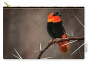 Yikes Spikes - Red Bishop Weaver Bird Carry-all Pouch