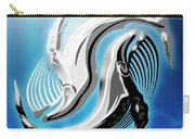 Yin And Yang Whale Carry-all Pouch