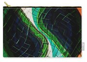 Yin Yang Abstract Carry-all Pouch