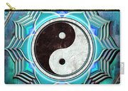 Yin Yang -  The Healing Of The Blue Chakra Carry-all Pouch