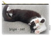 Yoga - Cat Carry-all Pouch