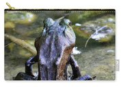 Yoga Frog  Carry-all Pouch
