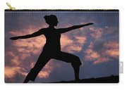 Yoga Sunset Carry-all Pouch