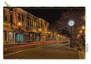 York South Carolina Downtown During Christmas Carry-all Pouch
