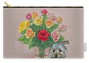 Yorkey Rose Carry-all Pouch